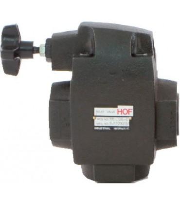 """Válvula de seguridad de 3/4"""" rosca BSP (GAS) 70 - 210 bar"""