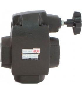 """Válvula de seguridad de 1-1/4"""" rosca BSP (GAS) 70 - 210 bar"""