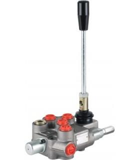 Distribuidor hidráulico compacto, 1 palanca, 45 lts/min, 210 bar max. presión (Motor hidráulico)