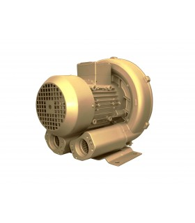 Soplante de 4.3 KW, flujo: 320 m3/hr y Presión de 380 mbar, 345/415 Volts