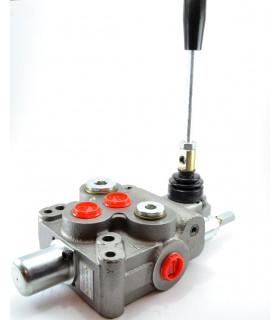 Distribuidor hidráulico de 1 palanca, 70 lts/min, 210 bar max. presión (Motor Hidráulico)