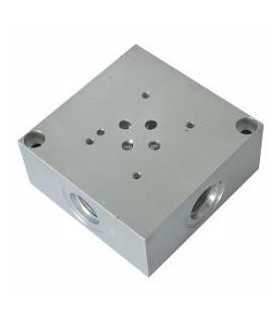 Placa Base NG6 con Válvula de seguridad