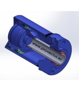 Cilindro de disparo neumático SERIE 9