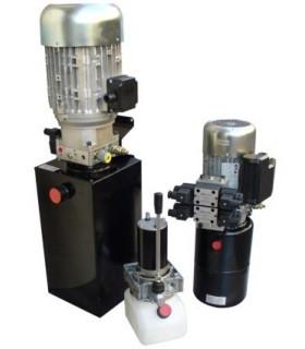 Grupo hidráulico 3HP 220 V, 4,7 cc/rev, Pmax: 135 bar