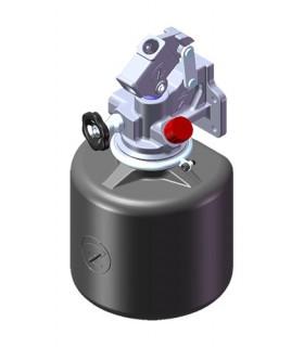 Bomba Hidráulica Manual Simple Efecto. Requiere Depósito de Plástico. Presión Máxima 100 bar