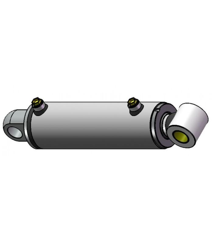 Cilindro Hco. Doble efecto 45-80-200 con overcenter